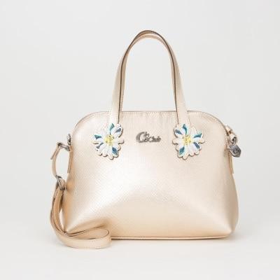 Bolsa Patch Floral Glacê 97ea3d9825cbb