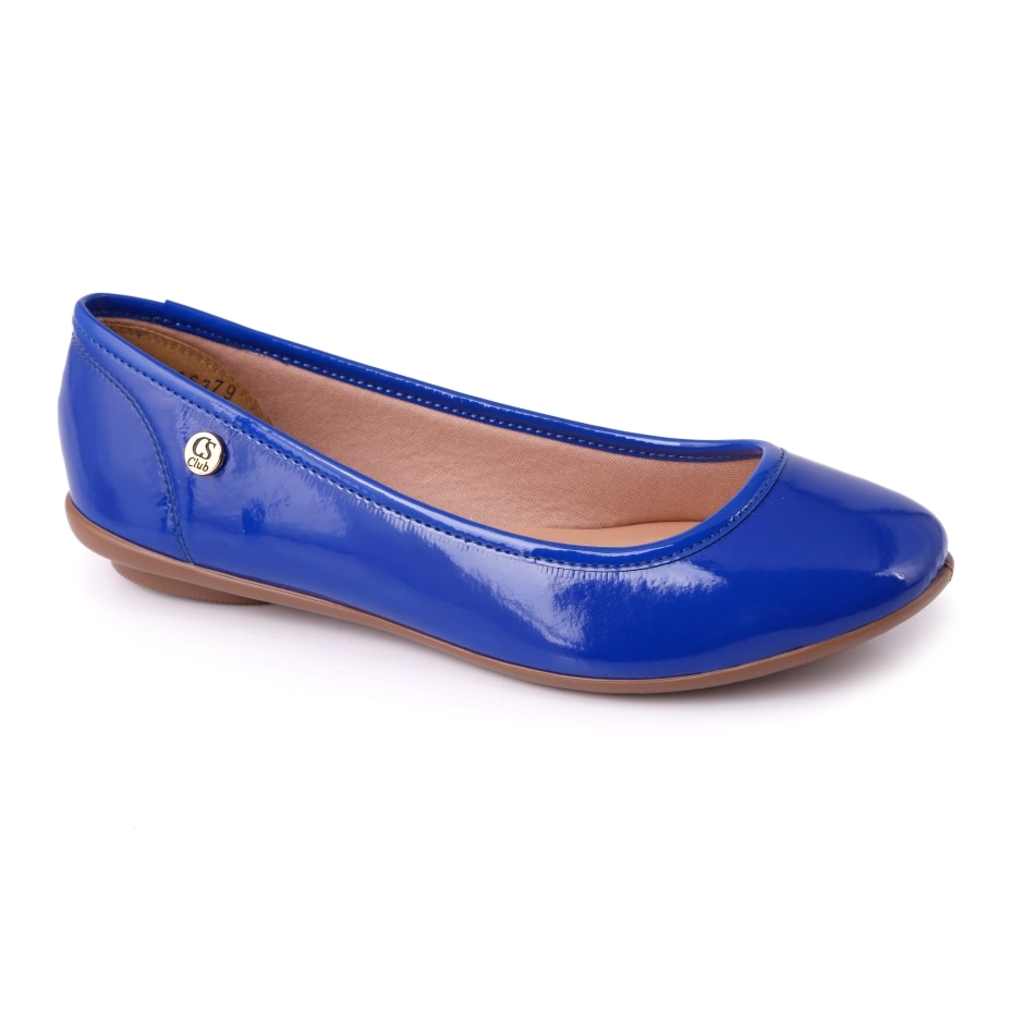 0bc7832526 Sapatilha Azul Verniz